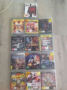 13 PlayStation 3 games. Won't split up, $50 the lot. Tumut Tumut Area Preview