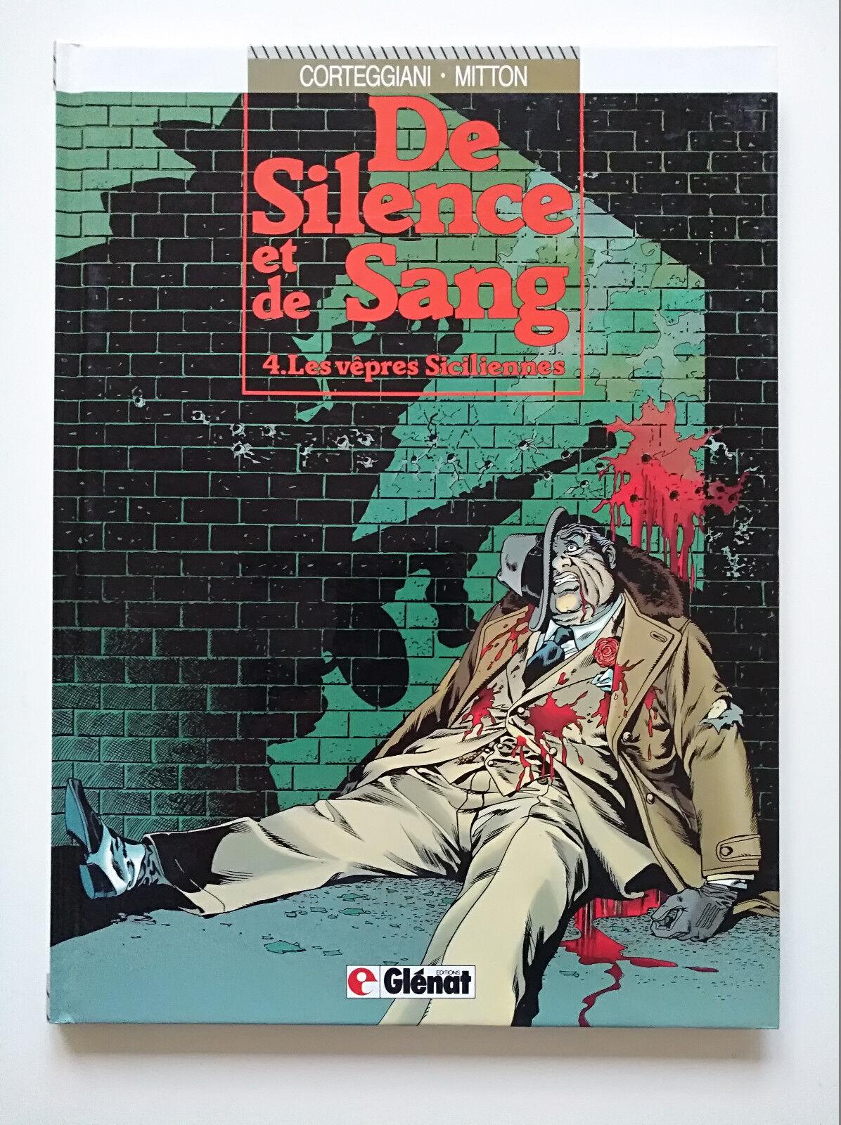 EO 1990 (très bel état) - De silence et de sang 4 (les vêpres siciliennes) Malès