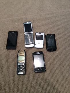 Collection of Vintage Phones