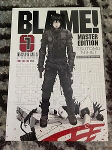 URGENT BLAME MASTER EDITION MANGA 1 & 2 Epping Whittlesea Area Preview