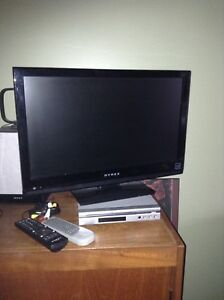 "DYNEX 21"" TV and DVD player"