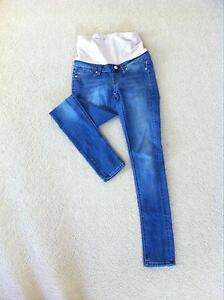 2 x skinny maternity jeans (size 8) Franklin Gungahlin Area Preview