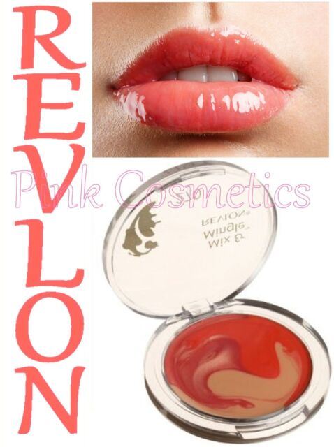 REVLON Mix & Mingle LIP GLOSS PALETTE Swirl Glossy Lips in 270 Tango with Mango