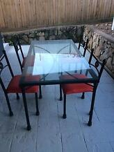 Wrought iron dining table / outdoor table Jindalee Brisbane South West Preview
