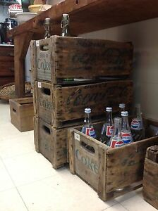 Caisse coke, Coca-Cola crate, antique vintage