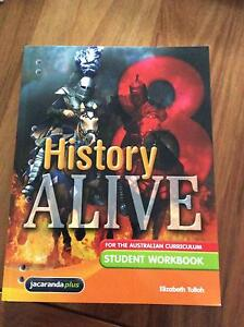 History ALIVE 8 For the Australian curriculum Student workbook Jacana Hume Area Preview