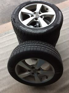 All Season Tires on Alloy Rims 205/55 r16