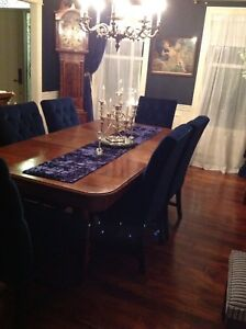 Fabulous Antique Jacques & Hayes Dining Set