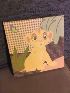 Lion King Wall Canvas