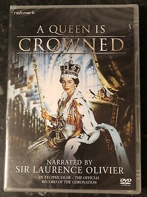 A QUEEN IS CROWNED DVD 1953 (SIR LAURENCE OLIVIER) BRAND NEW & SEALED