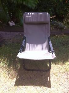 FOLDING CAMP OR BEACH CHAIR ADJUSTABLE HIEGHTS Coolum Beach Noosa Area Preview