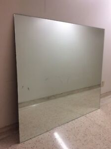Large wall mirror 60 by 54 inch excellent condition