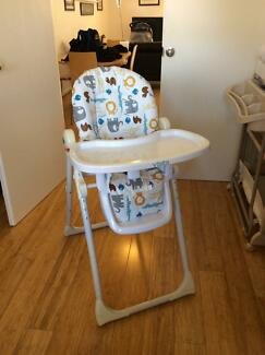 "High chair ""vista"" Redcliffe Belmont Area Preview"