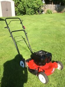 Used gasoline mower