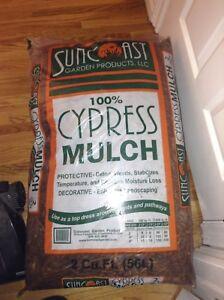 Large Cypress Mulch Bags!