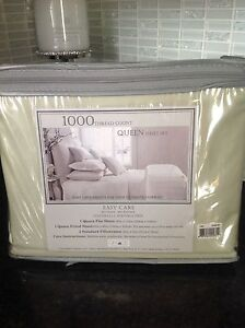Queen size sheets. 1000 thread count.