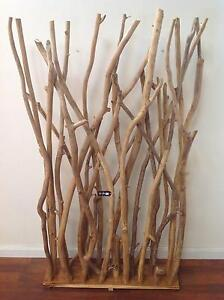 AUTHENTIC TEAK WOOD BRANCHES ROOM-SCREEN DIVIDER Frankston Frankston Area Preview