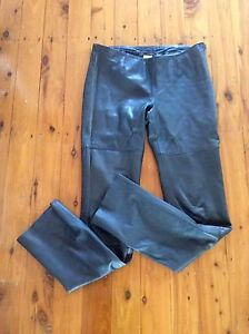 Beautiful butter soft leather pants - as new Woolooware Sutherland Area Preview