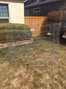 Dog deluxe exercise/play pen