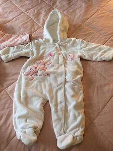 Girl's Bunting/Snowsuit
