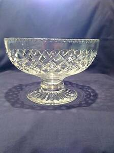 STUART CRYSTAL FRUIT/DESSERT BOWL Thornleigh Hornsby Area Preview