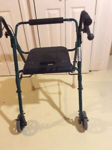Folding walker and high end canes