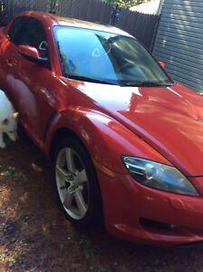 Mazda RX8 à vendre pour réparation
