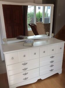 Dresser refurbished. Firm price. Also Nightstands available
