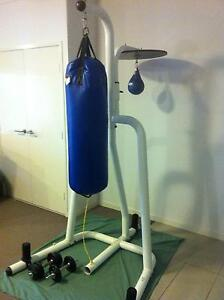 Boxing Bag Stand with Bags Brisbane City Brisbane North West Preview