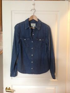 Denim Jean Shirt Forever 21