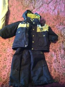 Boys snow suit and coat
