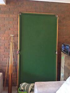 Snooker,billiard table with accessories Eltham North Nillumbik Area Preview