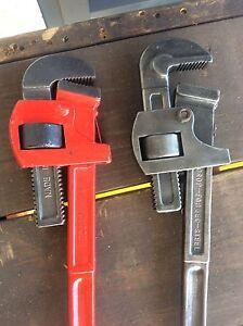 Large pipe wrench Larrakeyah Darwin City Preview