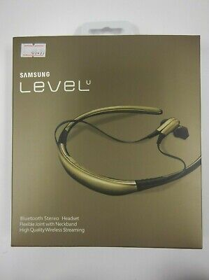 Samsung Level U Bluetooth Wireless Headphones - Gold