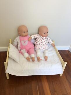 2x Baby Born You And Me Dolls Dianella Stirling Area Preview