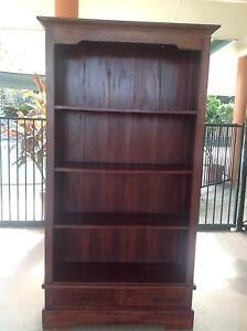 Solid Timber Bookshelf Gordonvale Cairns City Preview