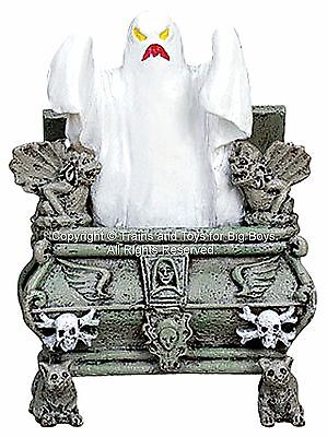 Halloween Crypt Table (Lemax 72378 GLOWING HAUNTED CRYPT Spooky Town Table Accent Retired Halloween)