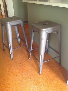 4 x Bronze metal Stools Stratford Cairns City Preview