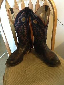 Pan handle slim cowboy boots size 9.5 EE -10