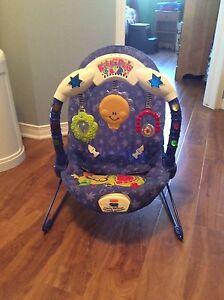 Chaise pour enfant vibrante avec musique