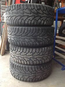 Winter Rims Tires package Hankook iPike 225/50R16  5x114.3