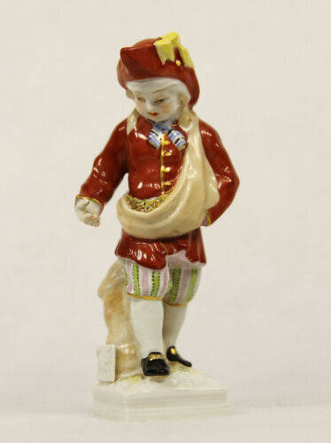 KPM BERLIN GERMANY MEYER TAURUS ZODIAC BOY PORCELAIN FIGURINE