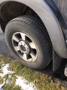 Four truck tires 275x70x18 10 ply Michelin
