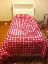 Solid Wood Single Bed Head & Base + roll out spare bed + Mattress Albert Park Port Phillip Preview