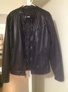 Black Guess Leather Jacket