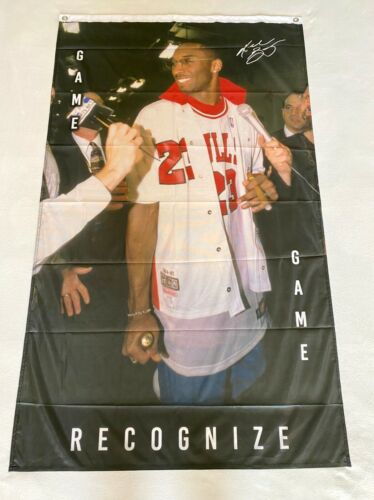 Black Mamba Bulls 3ftx5ft flag banner LIMITED EDITION free shipping GOAT new