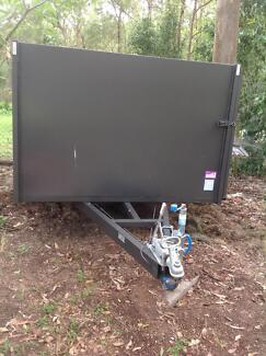 Large grey mowing trailer need sold ASAP Bunya Brisbane North West Preview