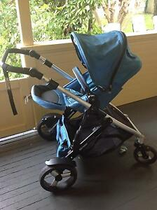 Strider plus pram with extra basinette Sawtell Coffs Harbour City Preview