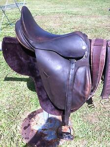 """SYD HILL ORIGINAL LEATHER MULTIPURPOSE SADDLE, 15"""" INCH Gordonvale Cairns City Preview"""