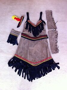 Native Indian Pocahontas costume (women's) with Wig Heidelberg Heights Banyule Area Preview